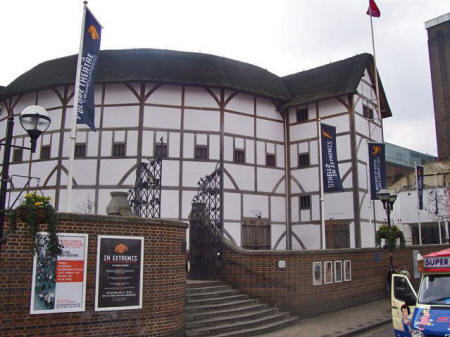Shakespeare's Globe Theatre in London England