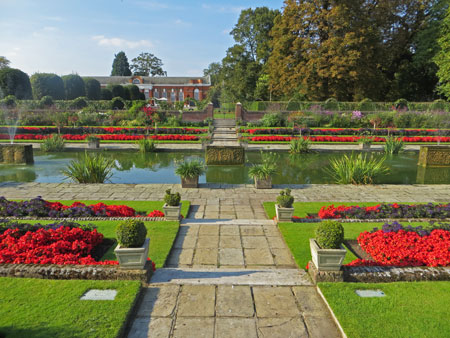 Formal Gardens at Kensington Palace
