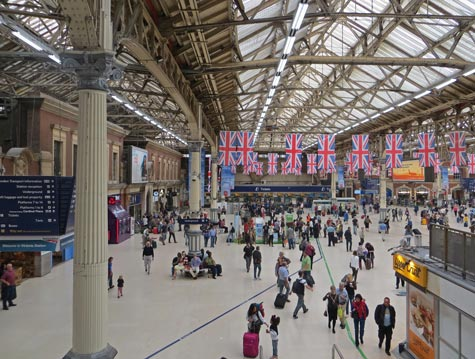 Train Stations in London England