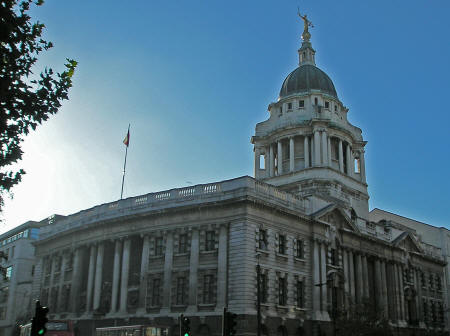 The Old Bailey in London England