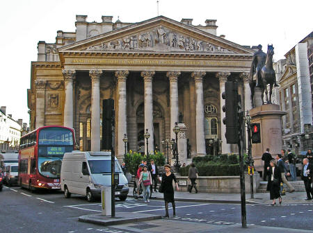 Royal Exchange in London England