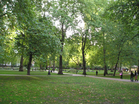 Russell Square in London England