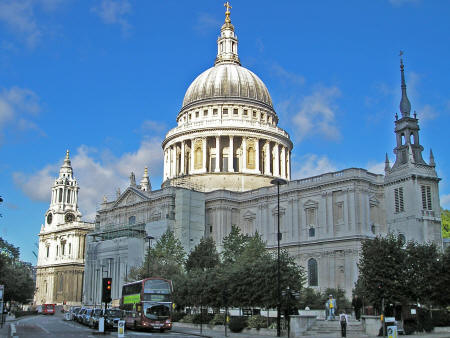 St. Paul's Cathedral in London England