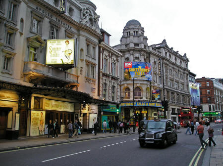 Half-priced Theatre Tickets in London England