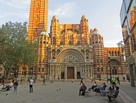 Westminster Cathedral in London England